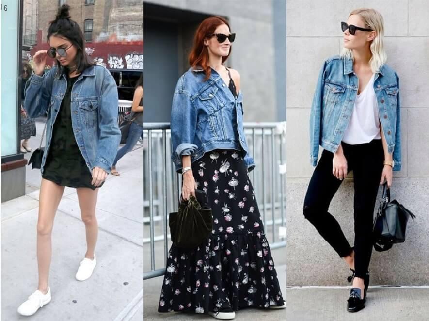 Como usar Jaqueta Jeans Grande