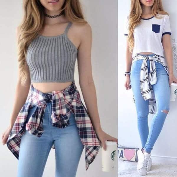 Calça jeans clara