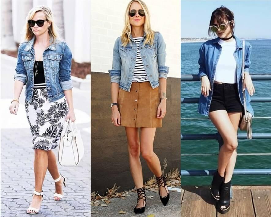 1664d12815 Como Usar Jaqueta Jeans  117 Looks e Dicas!  VEJA AS FOTOS