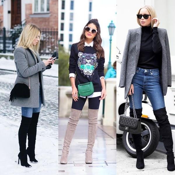Calça jeans e bota