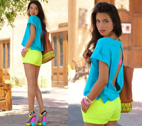 look neon