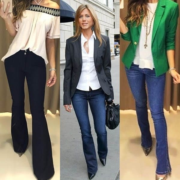 Calça jeans para trabalhar