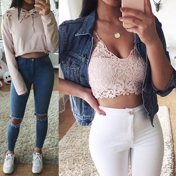 Melhor look com calça jeans
