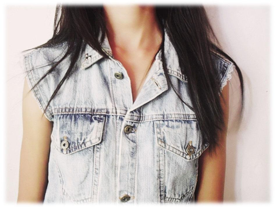 Como Usar Colete Jeans  91 Looks Com Colete Jeans Para 2019 d6c341b7844