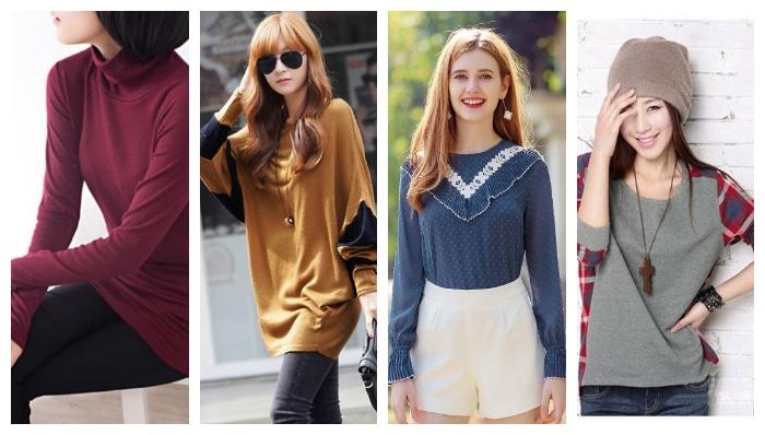 blusas femininas para o inverno