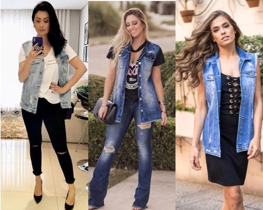 Como Usar Colete Jeans 91 Looks Com Colete Jeans Para 2019