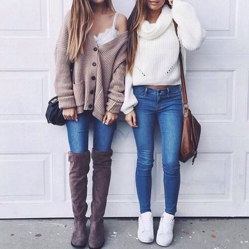 looks de inverno tumblr