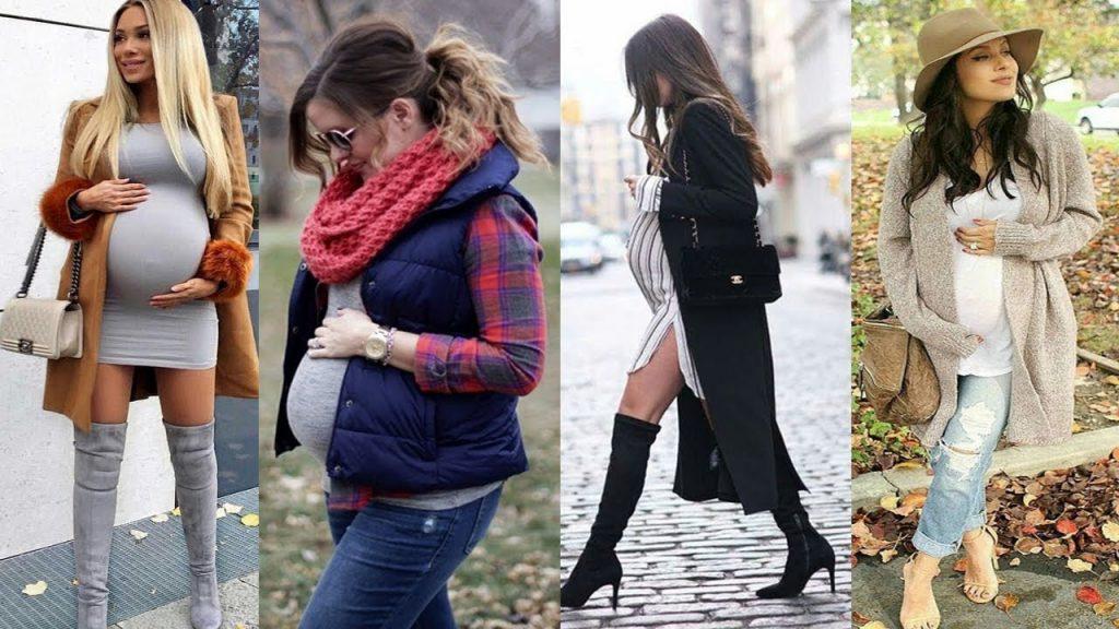 roupas para o frio gravidas