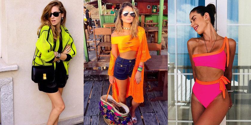 roupas neon para o verão