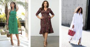 Modelos de Vestidos Ideais para Cada Tipo de Corpo