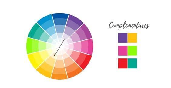 Como combinar cores de roupa: cores complementares