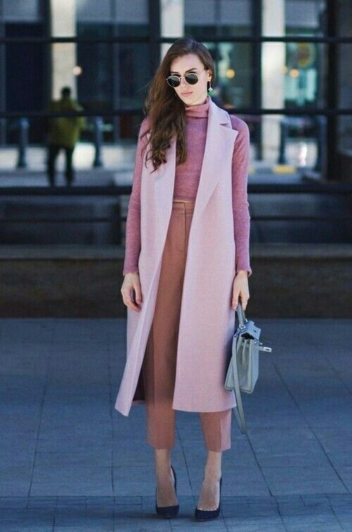 look com colete rosa