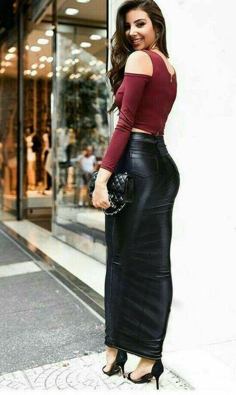 Looks com saia longa