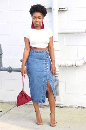 c9fdc738f0e Looks com Saia Jeans: +70 Looks e Dicas de Como Usar [2019]