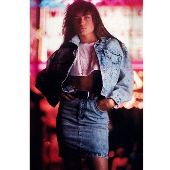 saia jeans anos 1980