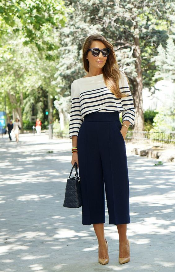 tendência blusa listrada