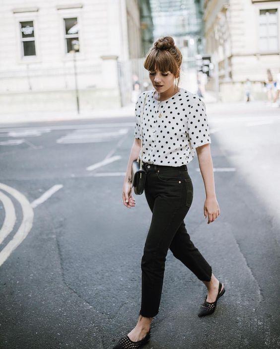 modelos de blusa de bolinha