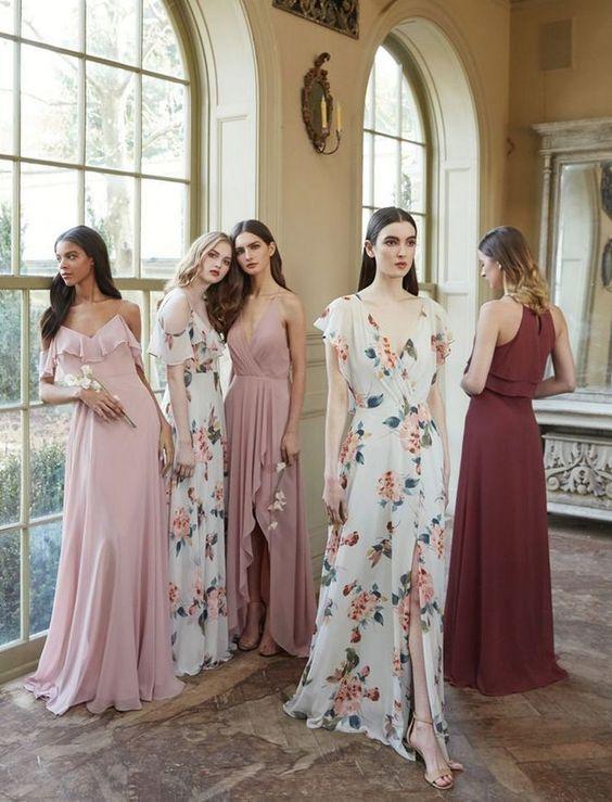 Modelos de Vestidos para casamento madrinhas
