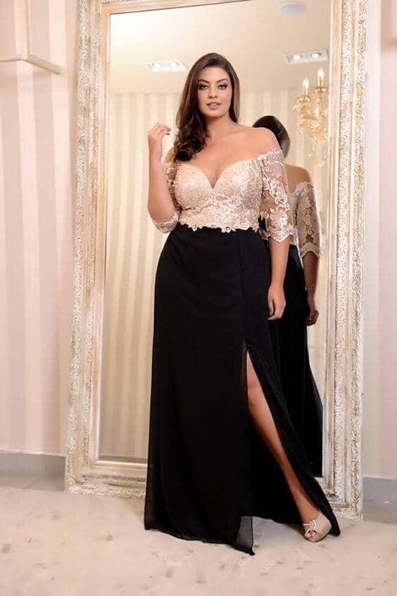 Modelos de vestidos de festa: Traje Social ou Passeio Completo