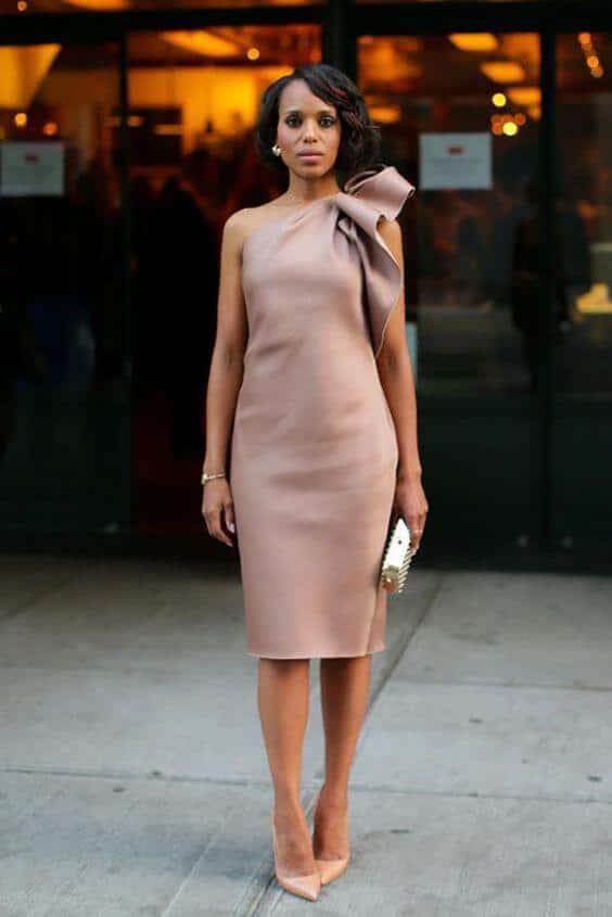 Modelos de vestidos de festa: Traje Passeio ou Esporte Fino