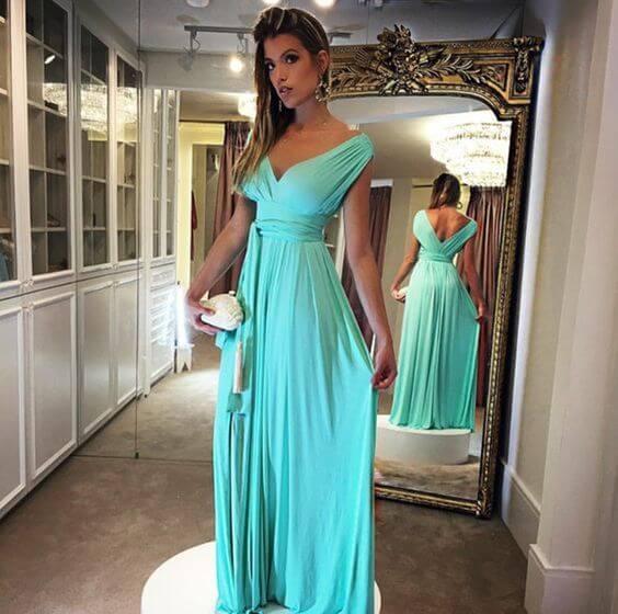 Modelo de vestido de festa: dia