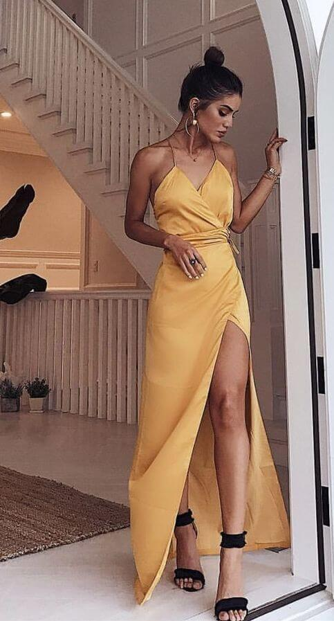 Modelo de vestido de festa: para salão