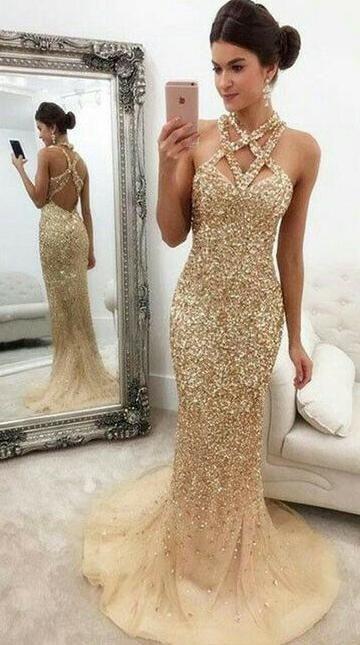 modelos de vestidos para formatura sereia