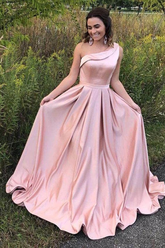 vestido para formatura rosa