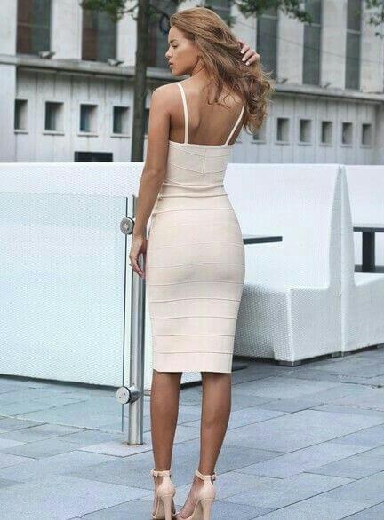 modelos de vestido tubinho branco