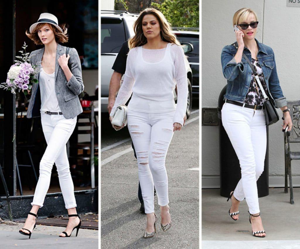 6caa669187e Embora gere muitas dúvidas de como se usar looks com calça branca