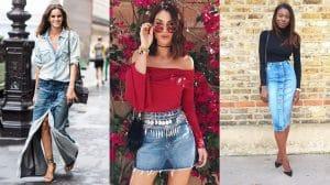 Looks com Saia Jeans: 70 Looks e Dicas de Como Usar