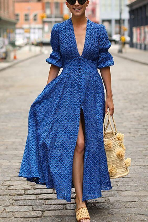 tipos de vestidos longos para baixinhas