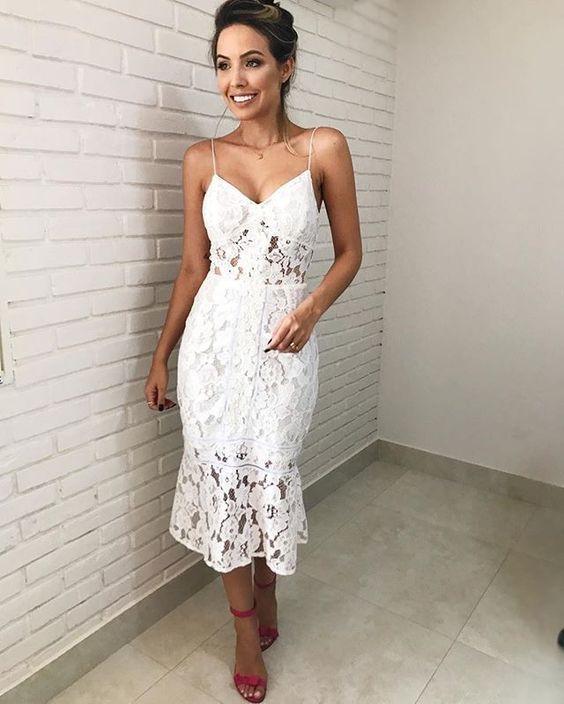 b8a01ff745 Modelos de Vestidos de Renda 2019  Do Romântico ao Boho  +FOTOS