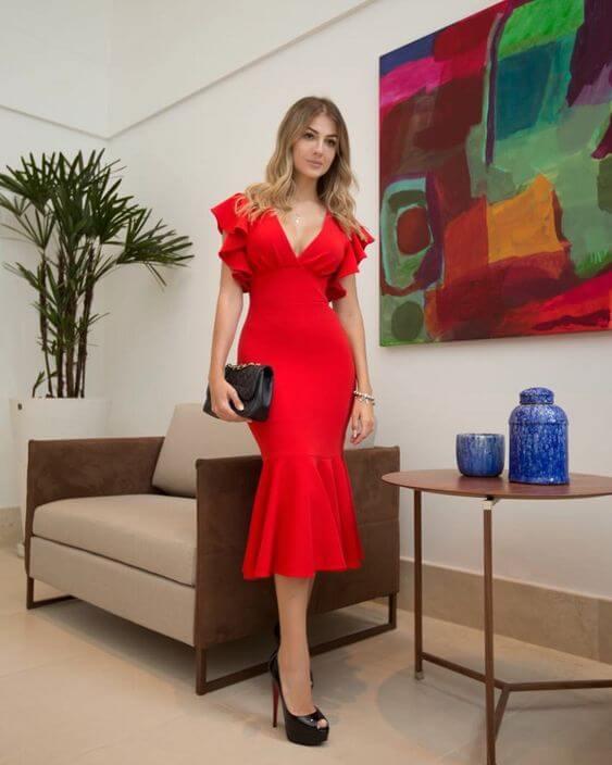 vestidos de festa convidada