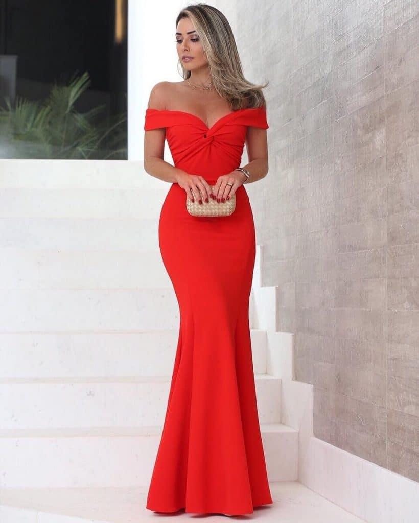 aee52c7984 Modelos de Vestidos Longos  ⇒ Guia Completo com Fotos!   2019