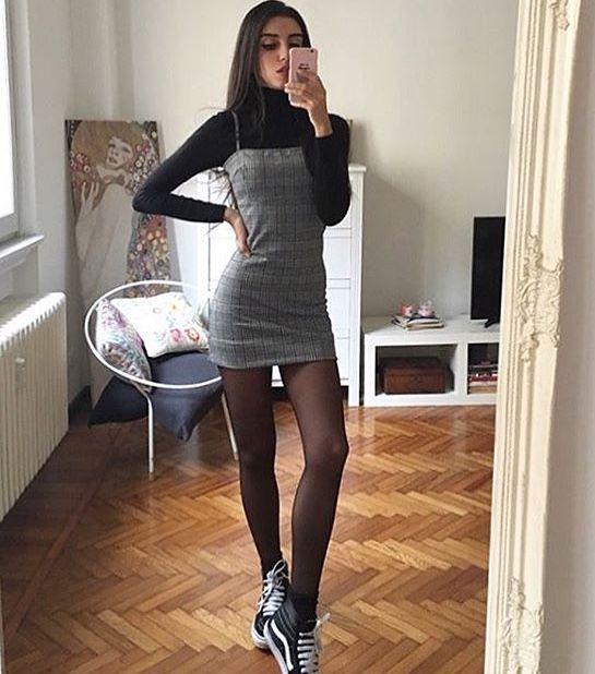 b127d6047 Looks com Meia Calça 2019 ⇒ 4 Dicas de Como Usar  +39 FOTOS