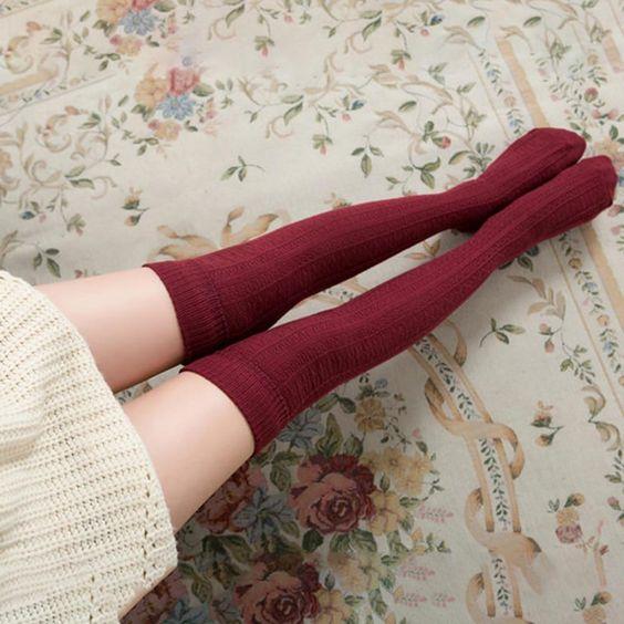 como usar meia calça de algodão