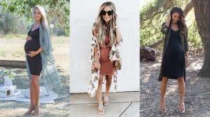 Vestidos para Grávidas: Modelos e Inspirações para as Mamães Gestantes