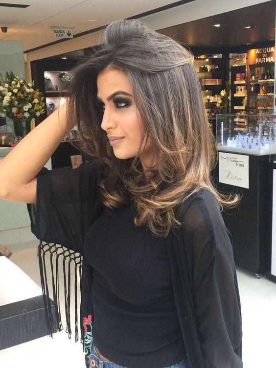 ombre hair morena