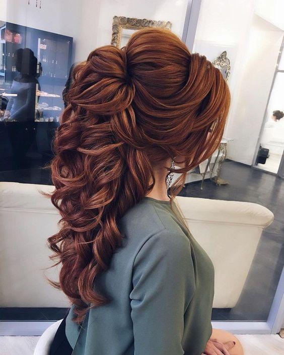 fotos de penteados para casamento 2019