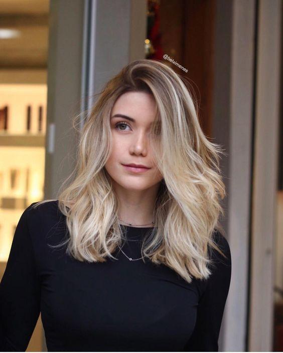 fotos de cabelo médio