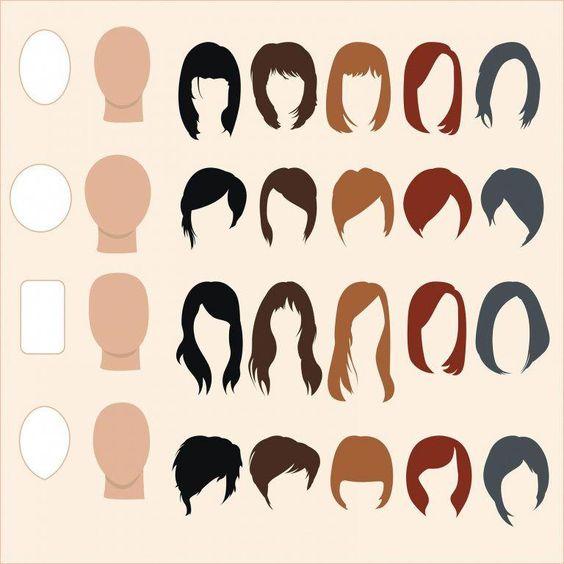 corte de cabelo médio feminino