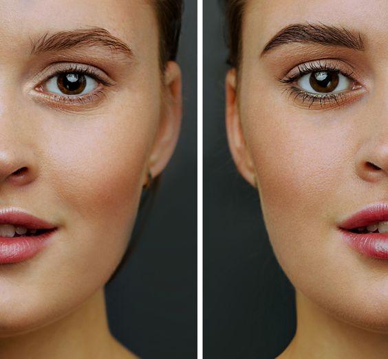 microblading antes e depois