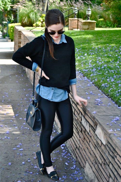 camisa jeans inverno