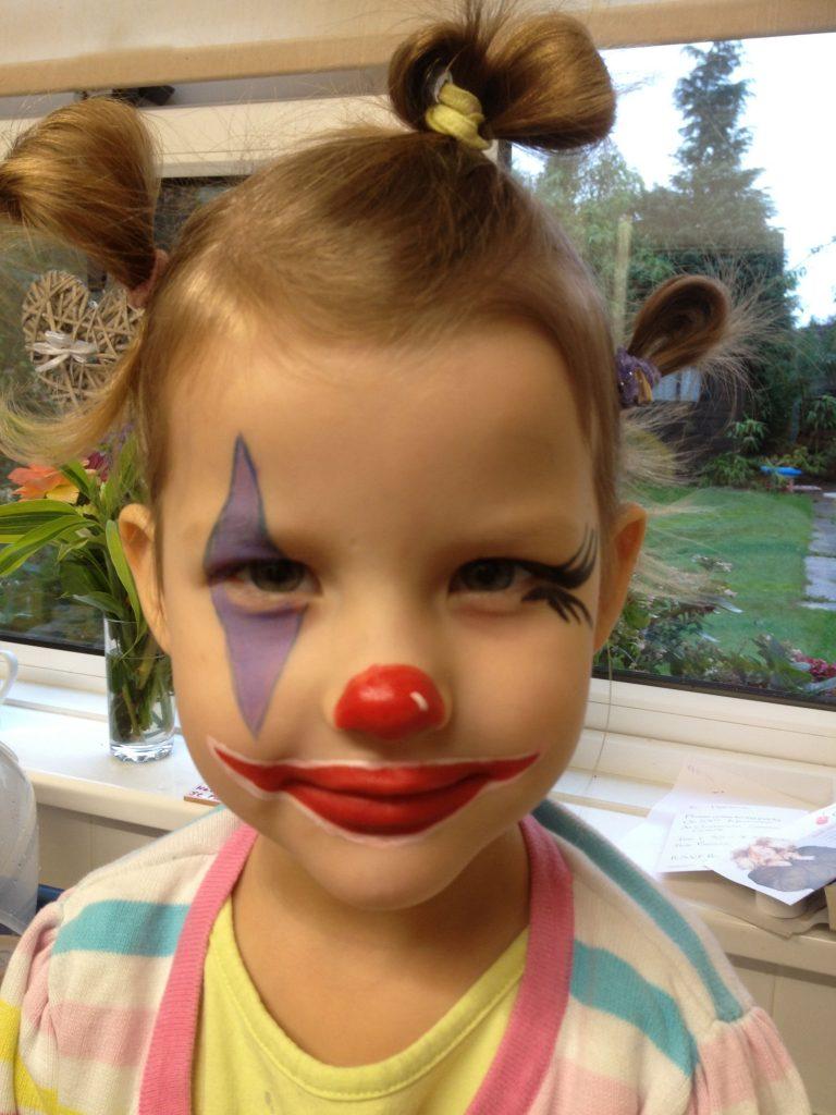 maquiagem infantil halloween