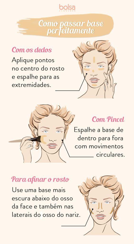 Maquiagem passo a passo: como passar base no rosto