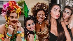 como fazer maquiagem para carnaval