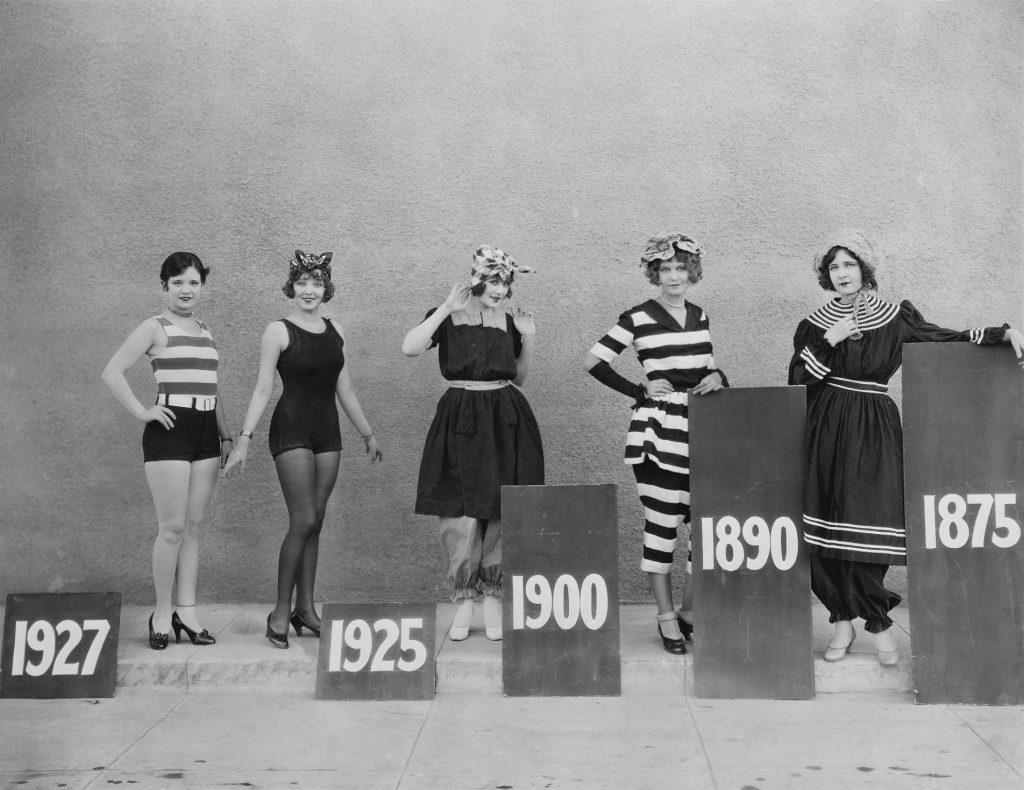 história da moda praia