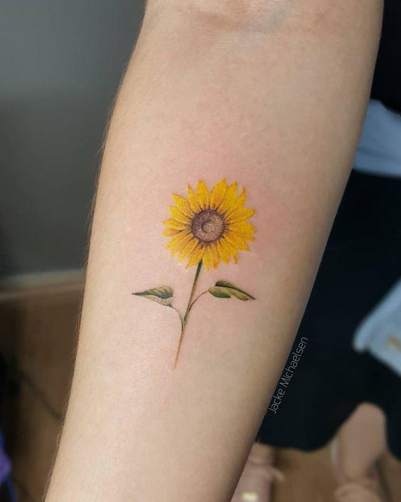 tatuagens delicadas braço
