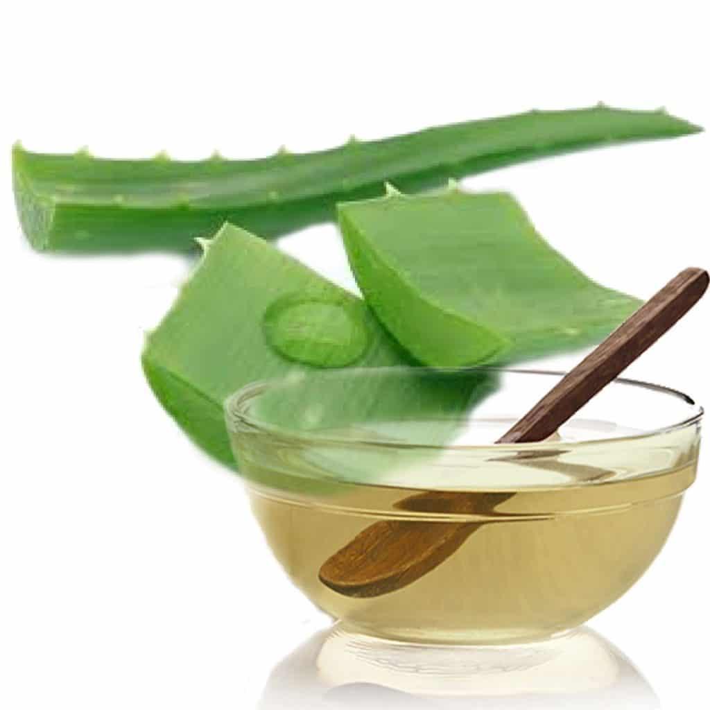 Aloe vera com azeite de oliva